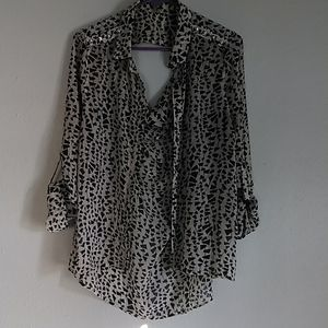 Charlotte russe blouse size L